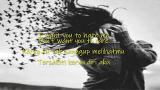 I WANT YOU TO LOVE ME (Lyrics) - Alif Satar