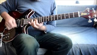 GRECO BM-90 Brian May Red Special Guitar with Di Marzio DP206 Brian May pickups (Demo)