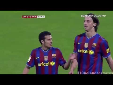 Messi Scores a Hat Trick, Zlatan Misses Clear Chances, and Messi Gives Ibra a Penalty