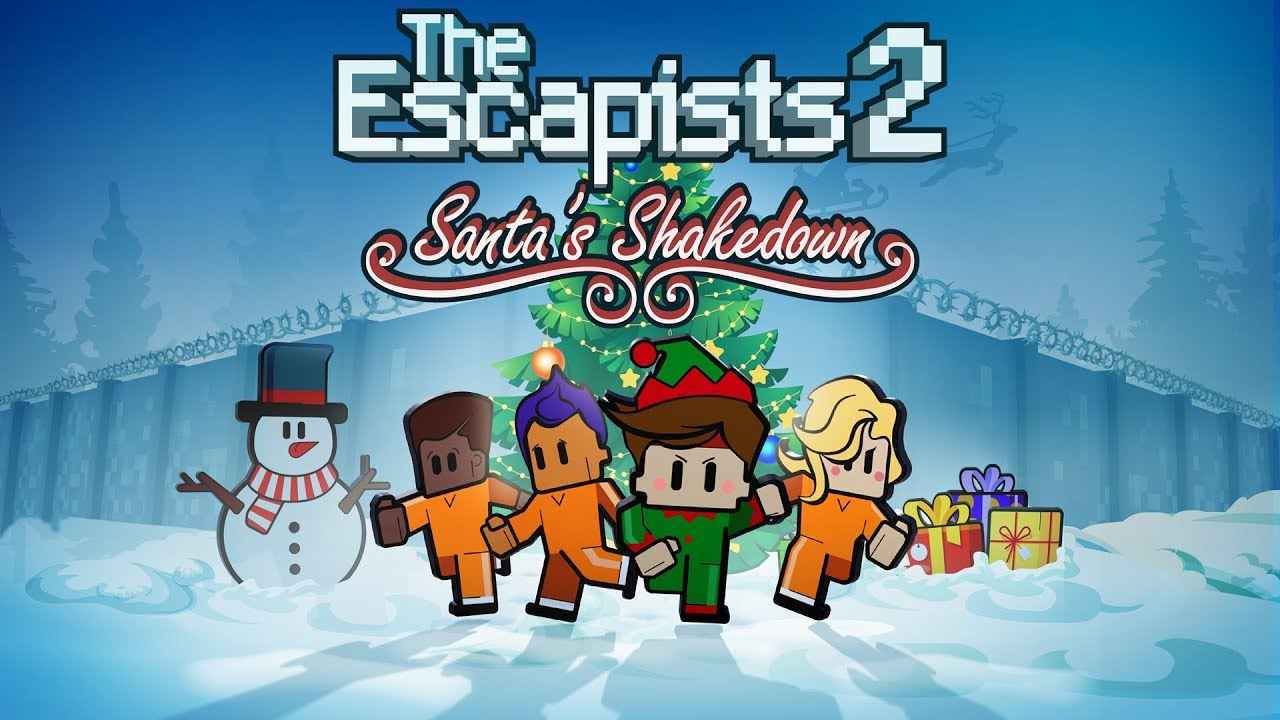 The Escapists 2 - Santa's Shakedown (Steam, PS4, Xbox One)