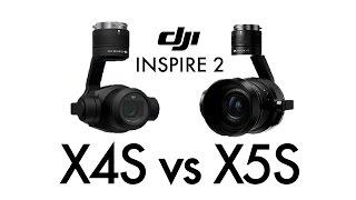 DJI Inspire 2 X4S vs X5S ultimate in-depth camera comparison