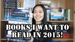 BOOKS I WANT TO READ IN 2015! Thumbnail