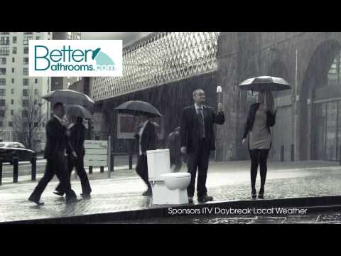 Voice Over for Better Bathrooms Daybreak Weather Indent   Rain