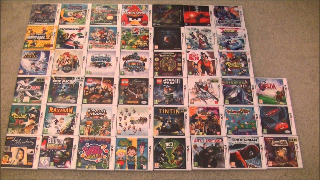 My Current Nintendo 3DS Games Collection   45 Boxed Retail Games     My Current Nintendo 3DS Games Collection   45 Boxed Retail Games   YouTube