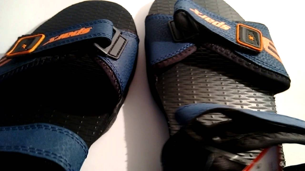 6320668425345 Sparx Navy Floater Sandals from snapdeal.com - YouTube