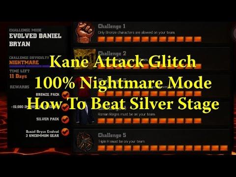 WWE Immortals - Kane Attack Glitch -...