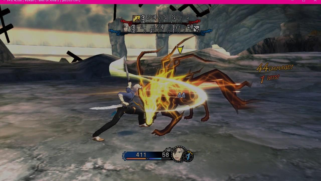 RPCS3 Tales of Xillia 2【test 3】