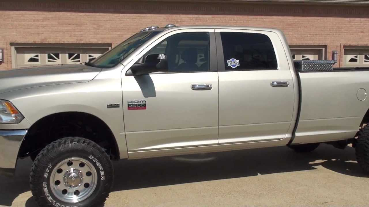 Hd video 2010 dodge ram 2500 hemi v8 gas 4x4 lifted long bed for sale see www sunsetmilan com youtube