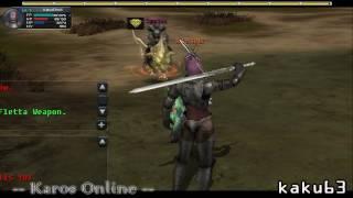 [Karos Online] Power of GM sword [HD]