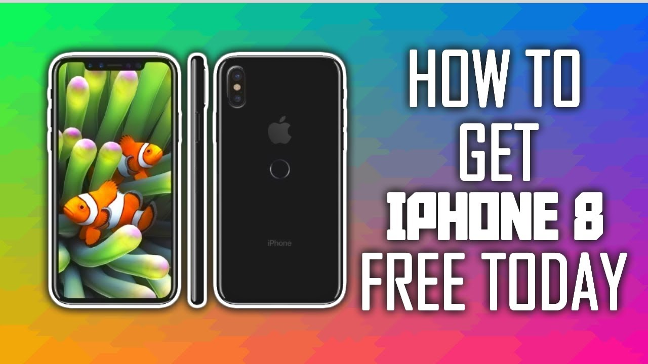 How To Get iPhone 8 FREE TODAY!!!