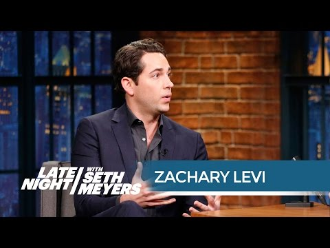 Zachary Levi On Starring In She Loves Me On Broadway Youtube