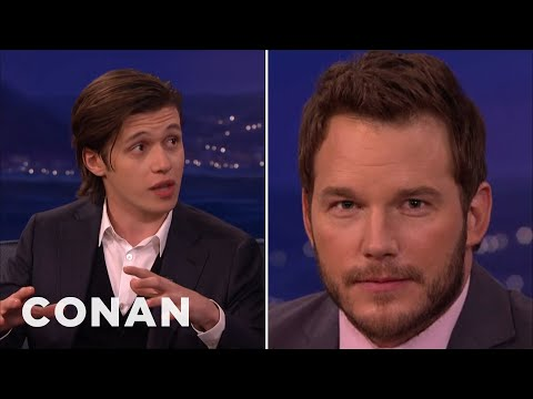 Nick Robinson Got Acting Tips From Chris Pratt  - CONAN on TBS