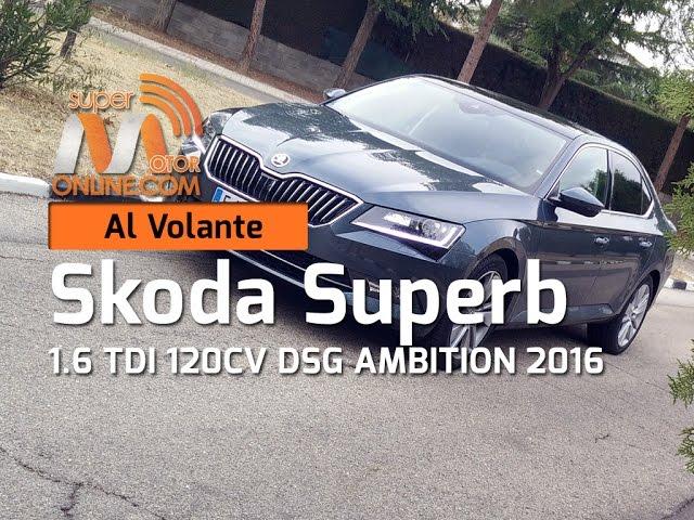 Skoda Superb 2016 / Al volante / Prueba dinámica / Review / Supermotoronline.com