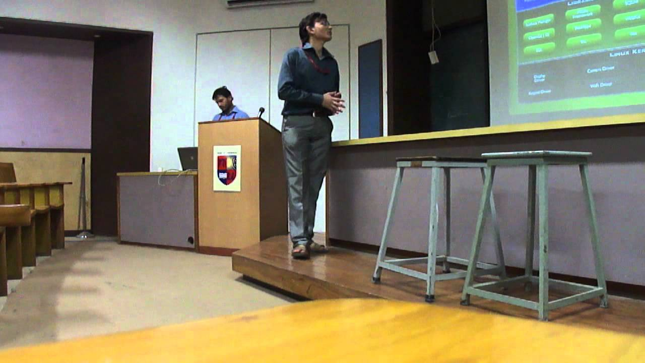 Android Lecture at Nirma University by Amar InfoTech company