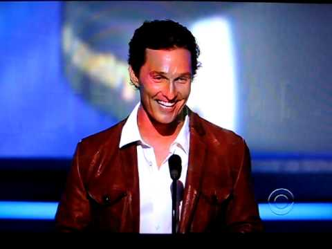 Matthew Mcconaughey Boots Joke Thank You George Strait