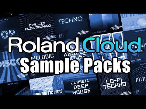 TEST: Roland Cloud Sample Packs