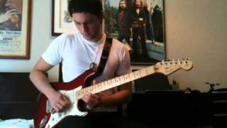 Look at Little Sister (Stevie Ray Vaughan) Guitar Solo Cover