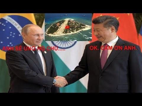 Nga ủng hộ Trung Quốc trong vấn đề biển Đông