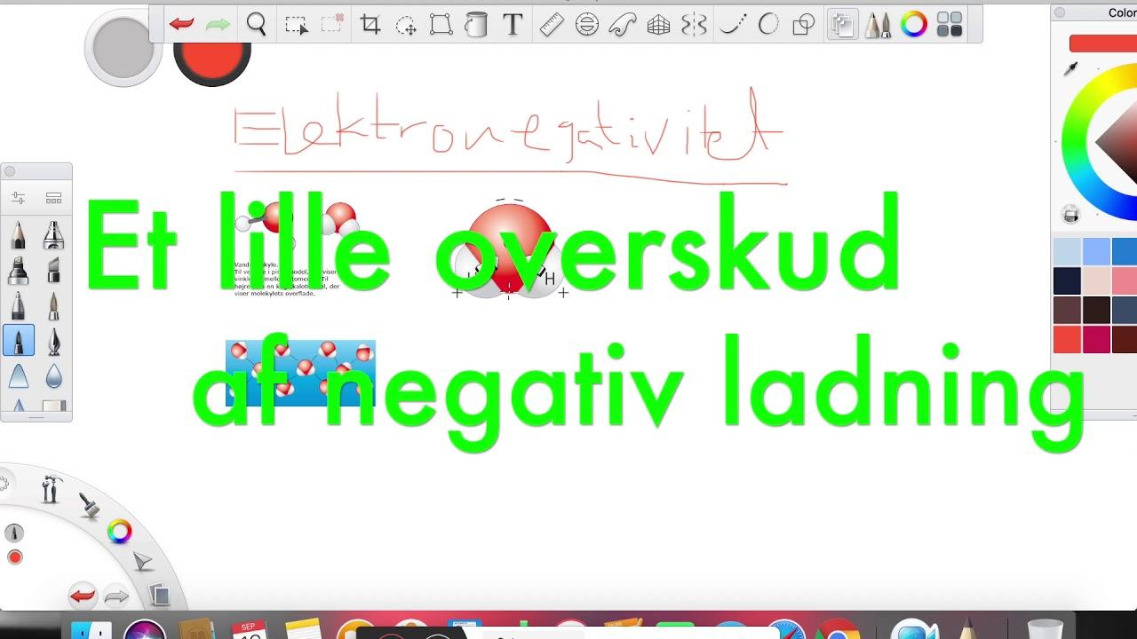 Elektronegativitet del 2