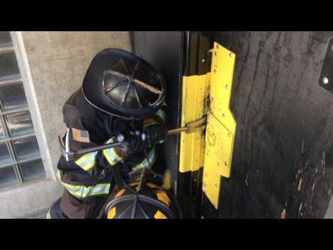 Forcible Entry - Inward Swinging Door