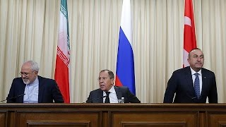 Türkiye, Rusya ve İran'dan Suriye için ortak metin