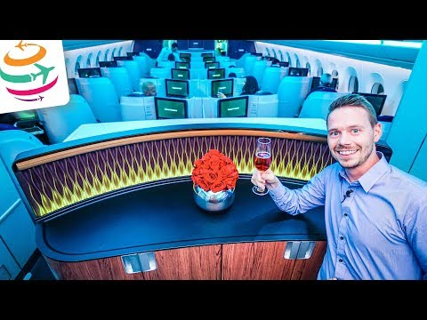 Qatar Airways Business Class A350 | GlobalTraveler.TV