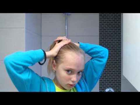 Haare dutt socke