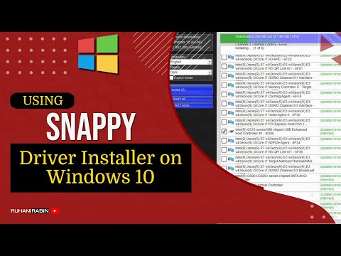 Using Snappy Driver Installer Origin - Easily keep all Windows 10 Drivers updated