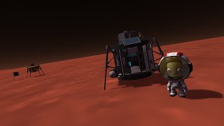 First trip to Duna in 1.0