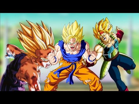 DRAGON BALL Z |AMV|  Goku's family tribute-SO FAR AWAY