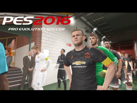 PES 2016 Gameplay - Manchester United Vs Real Madrid 2016 Pro Evolution 2016 Gameplay |PS4