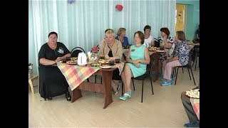 Встреча за чашечкой чая в детском саду
