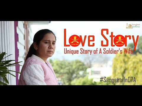 Amazing Love Story of An Indian Army Soldier's Wife