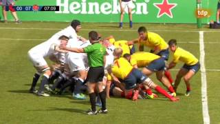 Spain v England Counties | 2017 June International rugby test match