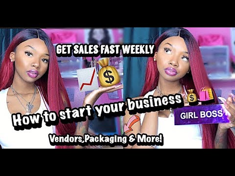 BECOME YOUR OWN BOSS ! HOW TO START A BUSINESS ! | Vendors,Packaging , Sale & MORE ! thumbnail