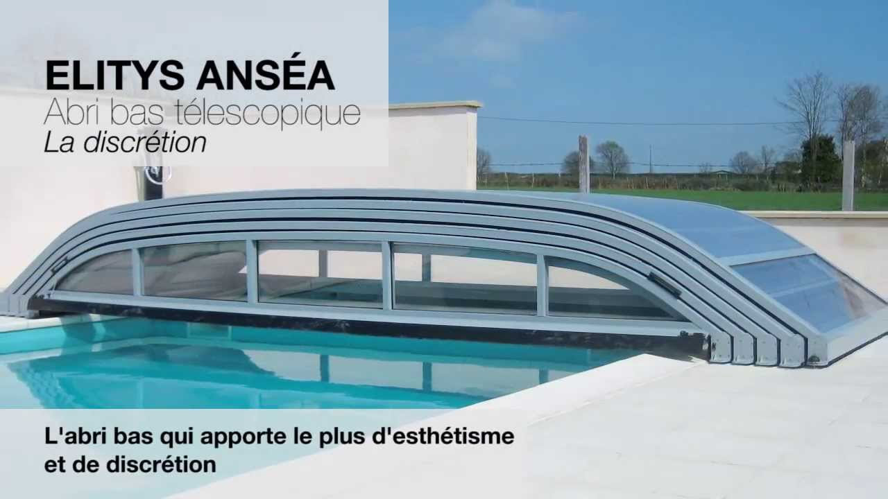 Pr sentation abris de piscine ec cr ation youtube for Abri piscine azenco