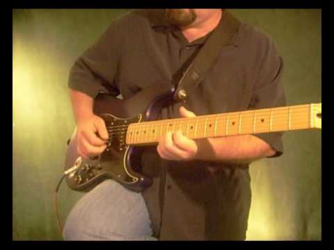 Power In The Blood country gospel guitar solo in G played on a strat