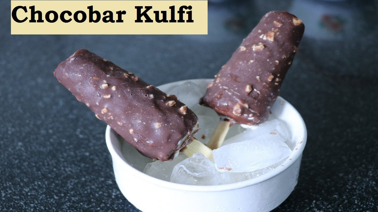 Chocobar kulfi recipe | choco Kulfi recipe | chocolate kulfi icecream |  चॉकोबार कुल्फी