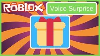 Roblox 🎁Sorpresa de voz🎁 (Puedo obtener 1k 👍s )