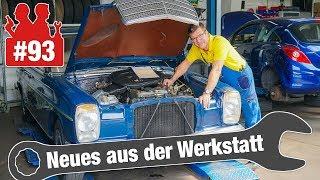 Diagnose: Strich-Achter Benz ruckelt | 1,2 Stunden Arbeit für Außenspiegel-Tausch bei Seat