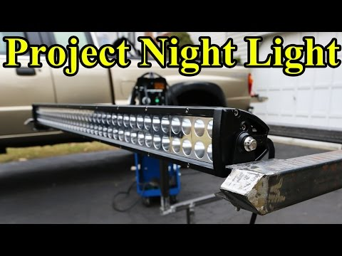 Custom LED Light Bar Build (Part 1 'Project Night Light')
