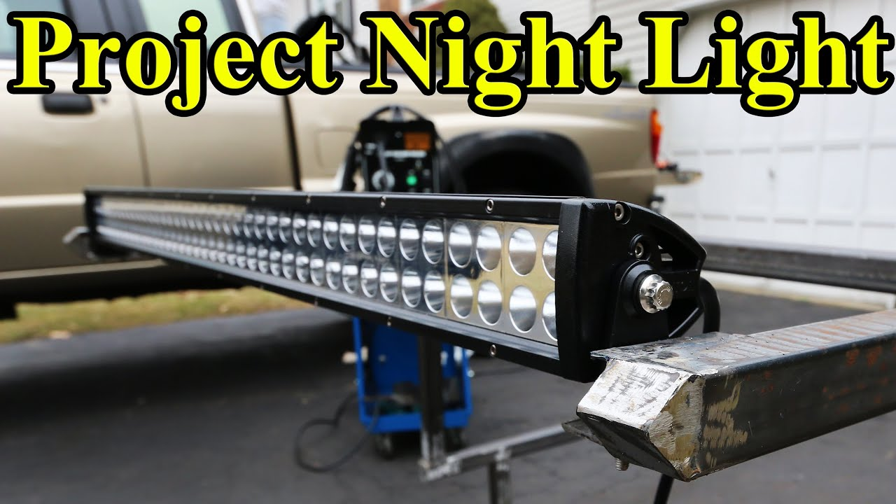 Custom led light bar build part 1 project night light youtube mozeypictures Choice Image