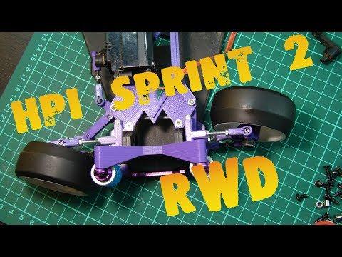 RC HPI Sprint 2 RWD DIY 3D Print #1