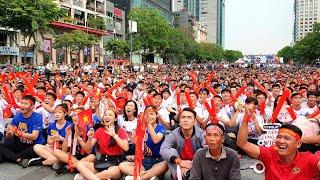 Vietnam 2-2 Thailand: Việt Nam vào Bán Kết, CĐV từ BẬT KHÓC sau 2 bàn thua sang VUI MỪNG với kết quả