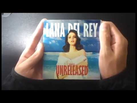 Lana Del Rey 'Unreleased' album unboxing