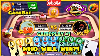 Gin Rummy Plus #1 | Gameplay | How to win in difficult times! screenshot 2