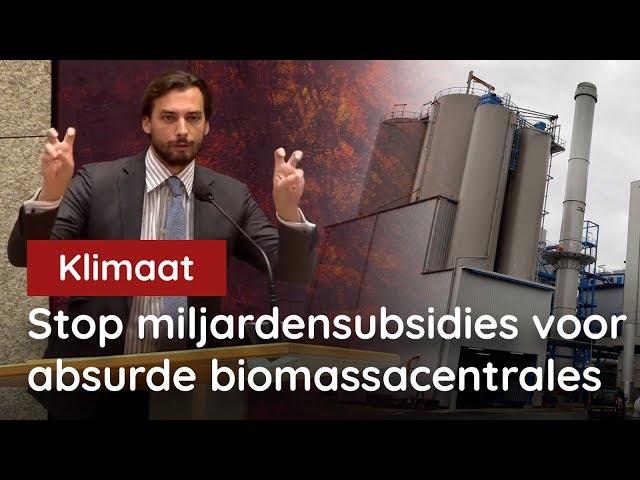 12 miljard naar biomassa? FVD: stop absurde miljardensubsidies!