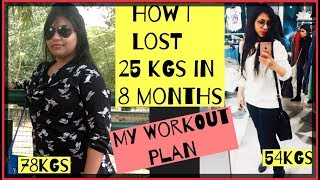 How I lost 25 kgs(NO GYM) | Workout Plan To lose 25kgs | Azra Khan Fitness
