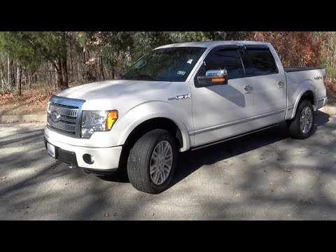 2011 Ford F-150 Platinum 4x4 5.0L Startup, Exhaust, Tour & Test Drive - YouTube