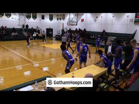 Lee Academy (ME) vs. Upper Room Christian School (NY) at 2019 Gotham Hoops Winter Classic